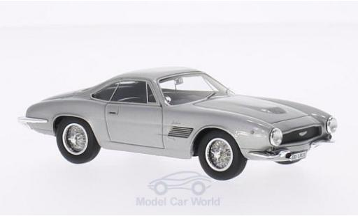 Aston Martin DB2/4 1/43 Matrix Jet Bertone metallise grise miniature