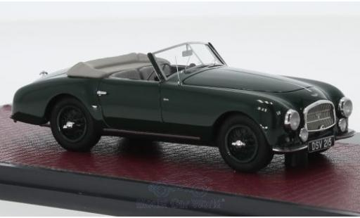 Aston Martin DB2 1/43 Matrix Vantage DHC green 1952 diecast model cars