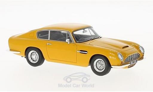 Aston Martin DB6 1/43 Matrix jaune RHD 1965 miniature