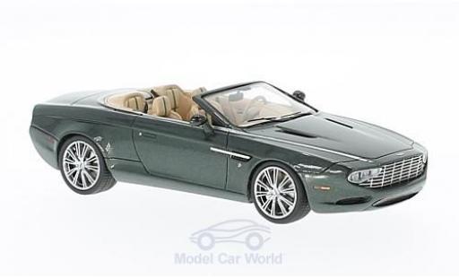 Aston Martin DB9 1/43 Matrix Spyder Centennial Zagato mettalic grün 2013 modellautos