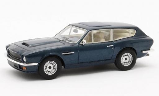 Aston Martin V8 1/43 Matrix Vantage Shooting Brake metallise blue 1986 diecast model cars