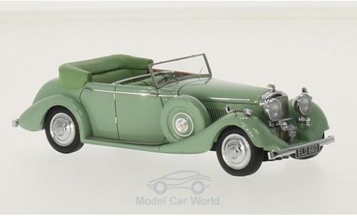 Bentley 4.5 1/43 Matrix 425 litre All Weather Tourer verte RHD Thrupp & Maberly 1937 miniature