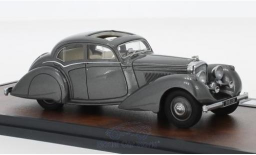 Bentley 4.5 1/43 Matrix 4.25 Litre Carlton Pillarless Saloon metallise grise RHD 1937 miniature