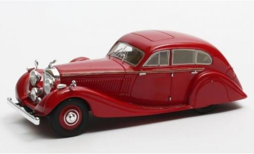 Bentley 4.5 1/43 Matrix Litre Gurney-Nutting Airflow Saloon rouge RHD 1936 #B118HK miniature