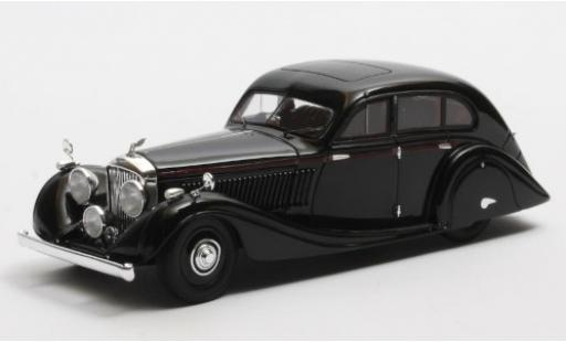 Bentley 4.5 1/43 Matrix Litre Gurney-Nutting Airflow Saloon noire RHD 1936 #B81GP miniature