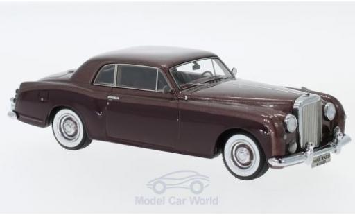 Bentley S1 1/43 Matrix Continental Park Ward rouge/metallise rouge 1956 miniature