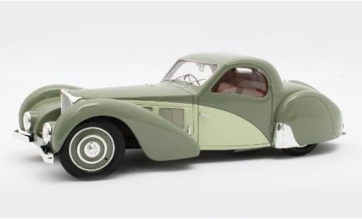 Bugatti 57 1/18 Matrix T SC Atalante verte/verte RHD 1937 Fahrgestell-n° 511 miniature