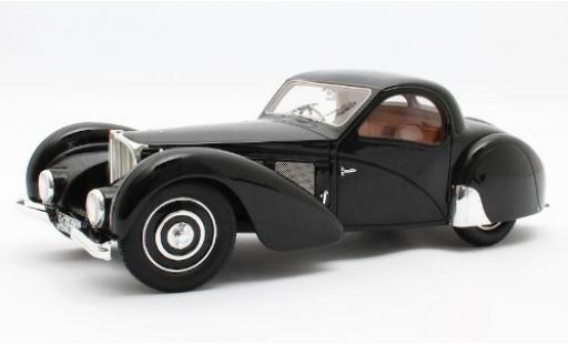 Bugatti 57 1/18 Matrix T SC Atalante noire RHD 1937 Fahrgestell-n° 511 miniature