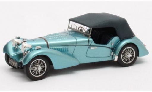 Bugatti 57 1/43 Matrix TSC Sports Tourer Vanden Plas metallise bleue RHD 1938 Chassis #541 miniature