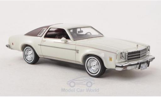 Chevrolet Chevelle 1/43 Matrix Malibu Hardtop white/dkl.-red ohne Vitrine diecast model cars