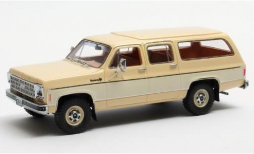 Chevrolet Suburban 1/43 Matrix K10 beige/beige 1978 modellino in miniatura