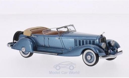 Chrysler Imperial 1/43 Matrix Custom metallise bleue 1933 Five Passenger Pheaton 7803657 miniature