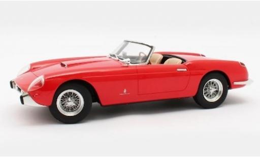 Ferrari 250 1/18 Matrix GT Pininfarina Cabriolet Series 1 rouge 1957 miniature