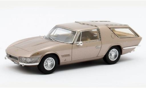 Ferrari 330 1/43 Matrix GT Shooting Brake Vignale metallise beige 1968 #7963 miniature