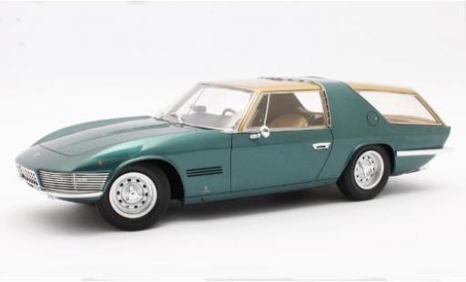 Ferrari 330 1/18 Matrix GT Vignale Shooting Brake metallise green/gold 1968 #7963 diecast model cars