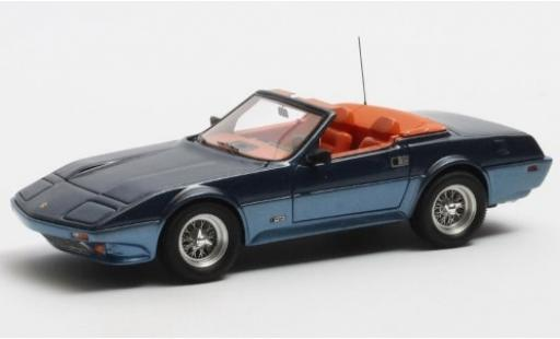 Ferrari 365 1/43 Matrix GTB-4 NART Spider Michelotti metallise blue/metallise blue 1972 diecast model cars