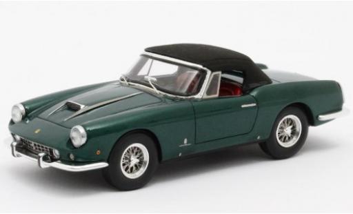Ferrari 400 1/43 Matrix Superamerica Pininfarina Cabriolet verde 1959 #1611 SA fermé Verdeck coche miniatura