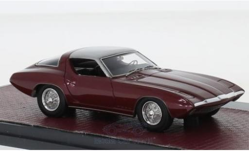 Ford Cougar 1/43 Matrix II Concept rouge/grise 1963 #CSX2008 miniature