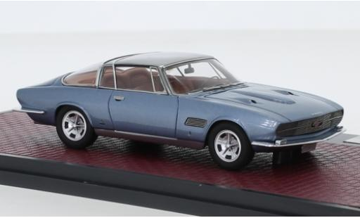 Ford Mustang 1/43 Matrix Bertone metallise blue/grey 1965 Automobile Quarterly verdeckte Scheinwerfer diecast model cars
