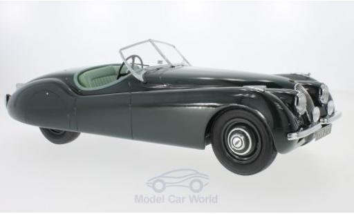 Jaguar 120 1/12 Matrix OTS verte RHD 1964 miniature