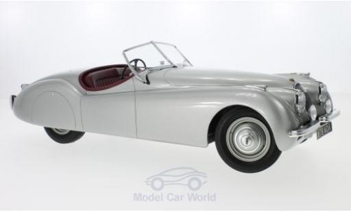 Jaguar 120 1/12 Matrix OTS grise RHD 1964 miniature