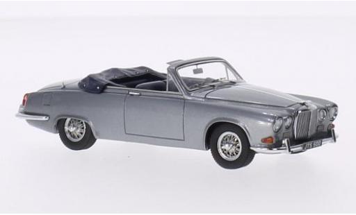 Jaguar 420 1/43 Matrix Harold Radford Convertible metallise grise RHD 1967 miniature