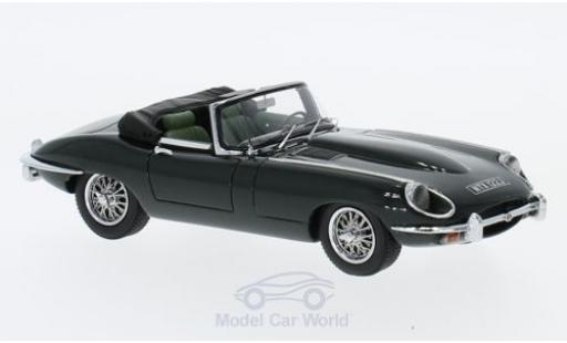 Jaguar E-Type 1/43 Matrix Roadster Series II verte miniature