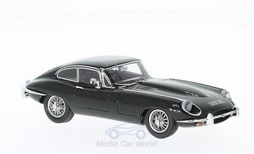 Jaguar E-Type 1/43 Matrix Series II Coupe noire RHD miniature