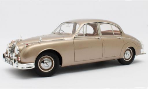 Jaguar MK 1/12 Matrix II gold RHD 1959 miniature