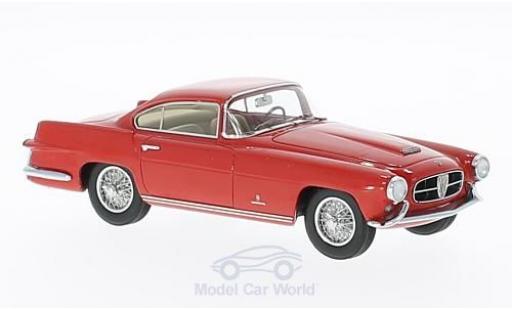 Jaguar XK coupe 1/43 Matrix 140 Ghia Coupe rouge 1955 miniature