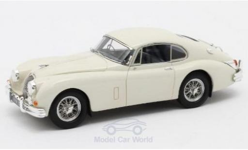 Jaguar XK 1/43 Matrix 150 S 3.8 Fastback by Hartin blanche RHD 1960 #T825146/DN miniature