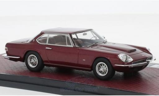 Maserati Mexico 1/43 Matrix Speciale Frua métallisé rouge 1967 miniature