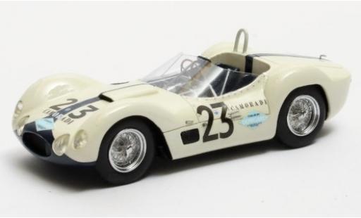 Maserati Tipo 1/43 Matrix 61 Birdcage RHD No.23 Camoradi USA Racing Team 12h Sebring 1960 S.Moss/D.Gurney miniature