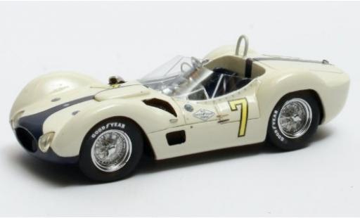 Maserati Tipo 1/43 Matrix 61 Birdcage RHD No.7 GP Kuba 1960 S.Moss miniature