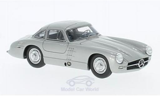Mercedes 300 SL 1/43 Matrix (W194) Transaxle Prougeotype grise miniature
