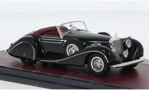 Mercedes 540 1/43 Matrix K Spezialroadster Sindelfingen black 1939 diecast model cars