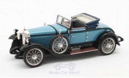 Mercedes Classe S 1/43 Matrix 630K Sport Cabriolet Hibbard & Darrin bleue/noire 1927 #38182 miniature