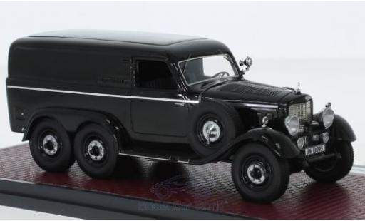 Mercedes G4 1/43 Matrix (W31) Kastenwagen black 1939 diecast model cars