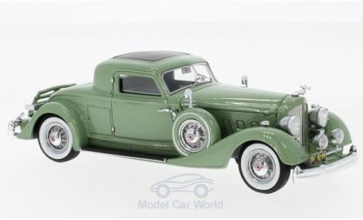 Packard 110 1/43 Matrix 8 Twelve Stationary Coupe Dietrich verte 1934 miniature