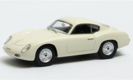 Porsche 356 1/43 Matrix Zagato Coupe white 1959 diecast model cars