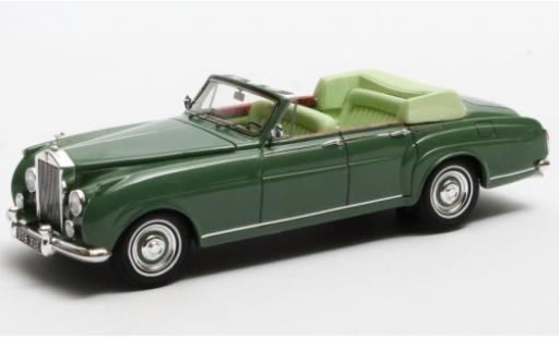 Rolls Royce Silver Cloud 1/43 Matrix H.J.Mulliner 4-Door Cabriolet verte 1962 LLCB15 miniature