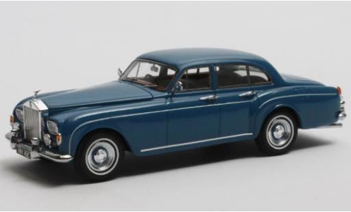 Rolls Royce Silver Cloud 1/43 Matrix III Flying Spur H.J.Mulliner bleue RHD 1965 miniature