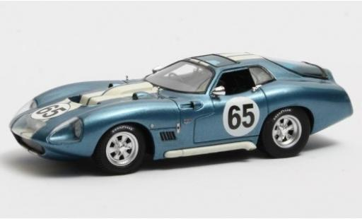 Shelby Cobra 1/43 Matrix Daytona Predotype metallise blue/white RHD No.65 1965 diecast model cars