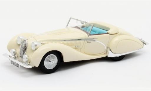 Talbot Lago 1/43 Matrix T150C Cabriolet Figoni & Falaschi blanche RHD 1936 #90111 miniature