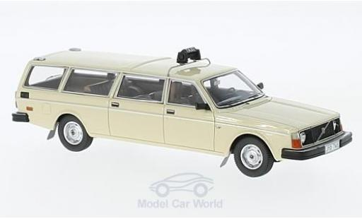Volvo 245 1/43 Matrix Transfer beige Taxi miniature