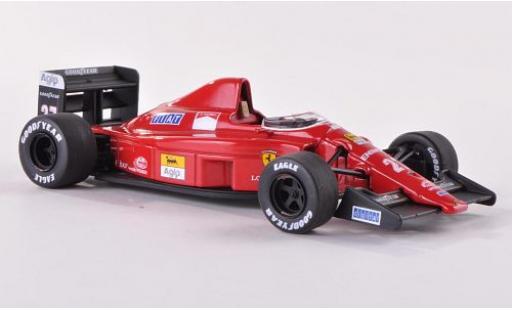 Ferrari F1 1/43 Mattel Elite -89 (640) No.27 Scuderia Formel 1 GP Ungarn 1989 N.Mansell modellino in miniatura