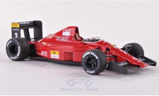 Ferrari F1 1/43 Mattel Elite -90 (641) No.2 Scuderia Formel 1 GP Brasilien 1990 N.Mansell modellino in miniatura