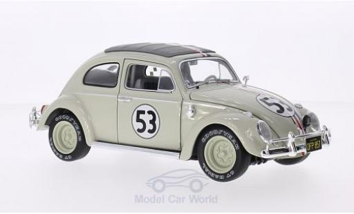 Volkswagen Beetle 1/18 Mattel Elite Herbie Goes Monte Carlo miniature