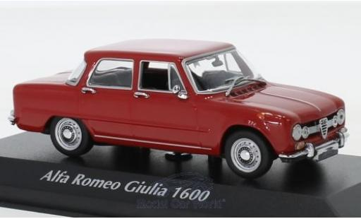 Alfa Romeo Giulia 1/43 Maxichamps 1600 red 1970 diecast model cars