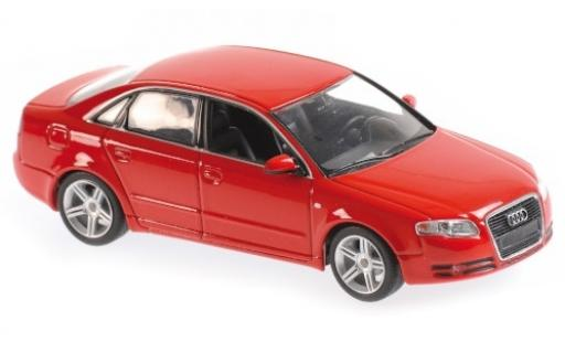 Audi A4 1/43 Maxichamps rouge 2004 miniature